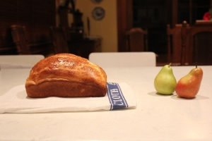 bread and pear