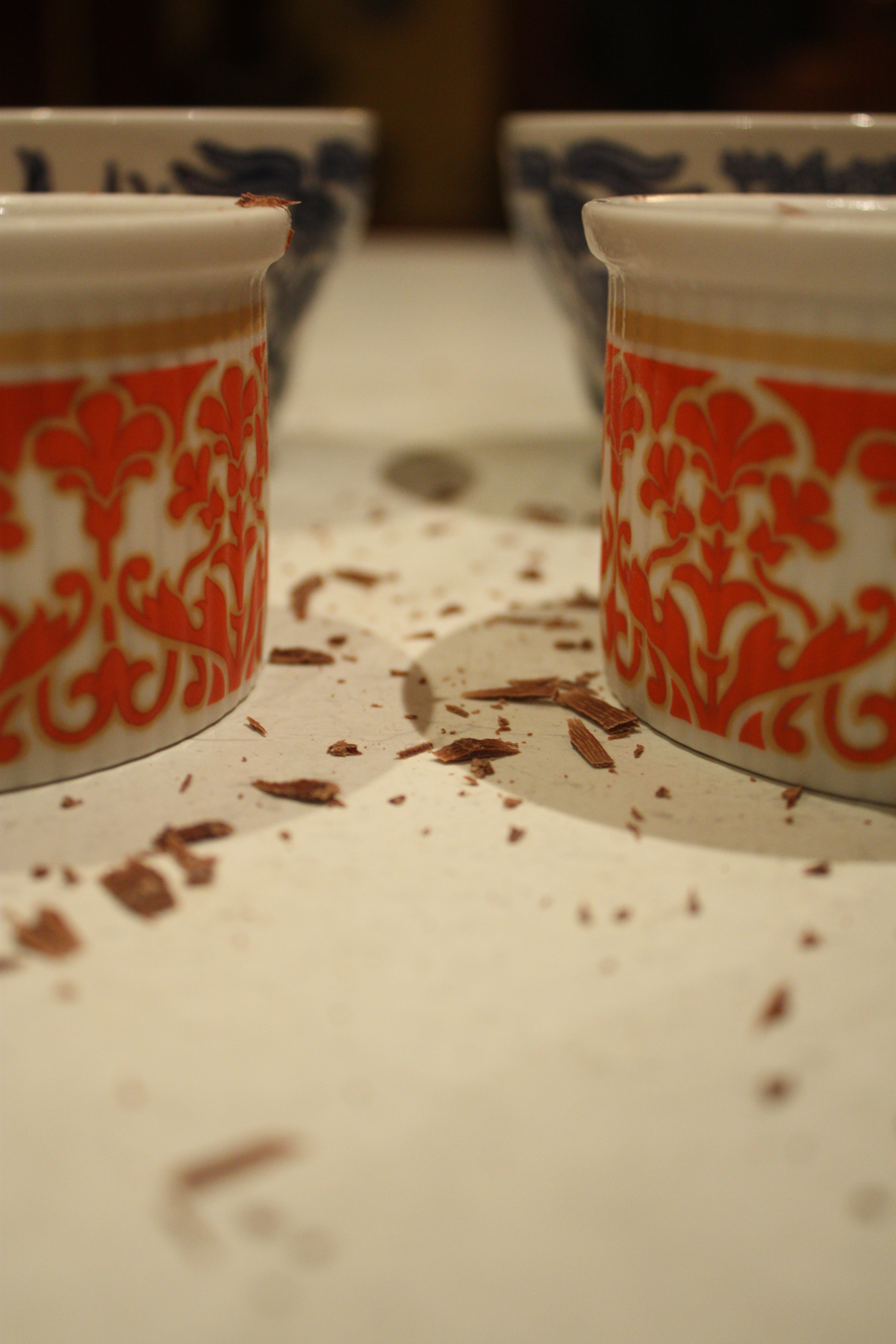 Chocolate Nutella pots de crème and chilly weather ...