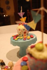 spotty cupcake