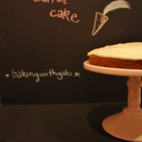 Carrot & poppyseed cake and re-discovering