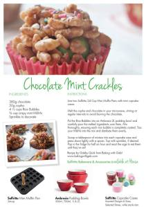 chocolate crackles card