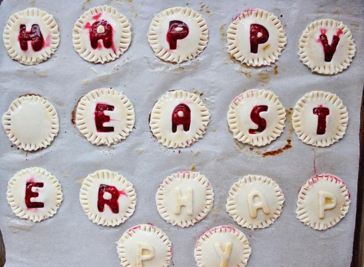 Raspberry Nutella puffs