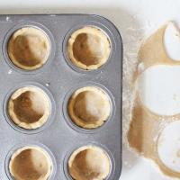 Early grey custard tarts and mini tart love
