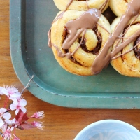 Cinnamon and date scrolls and familiarity