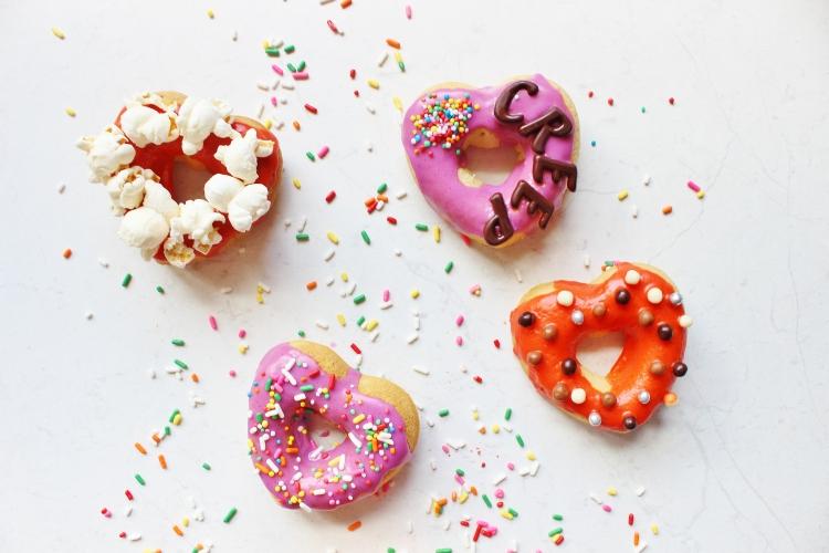 halloween doughnuts four