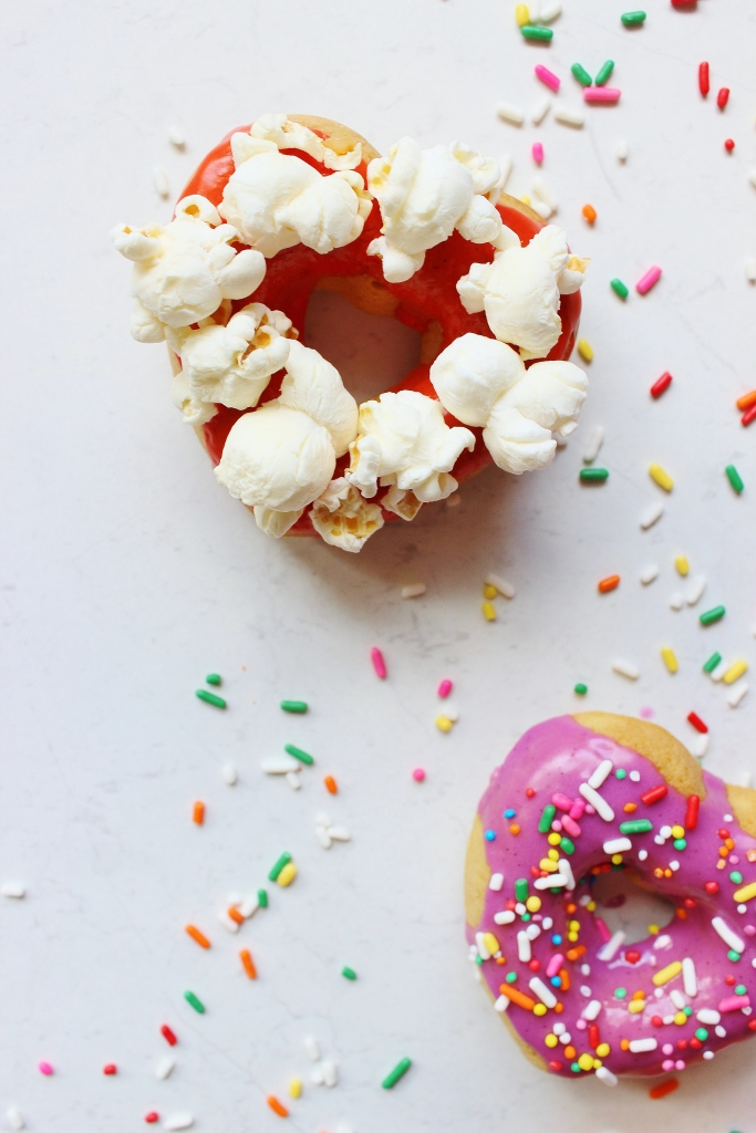 halloween vanilla doughnuts cobs popcorn