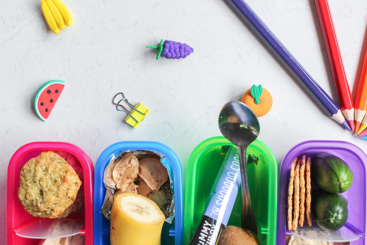Healthy veggie bites and back to school lunch ideas