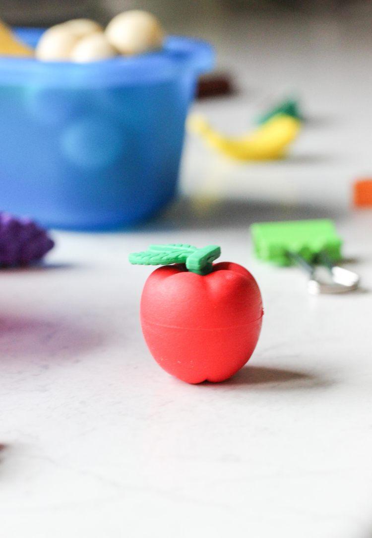 5 apple eraser